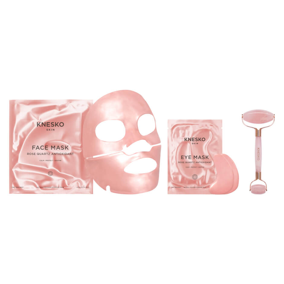 Knesko - ROSE QUARTZ ANTIOXIDANT SET