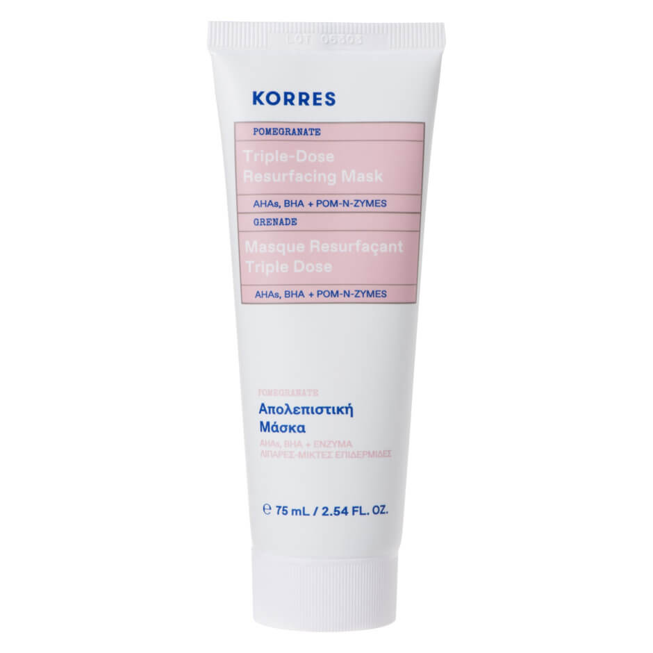 Korres - Pomegranate Triple-Dose Resurfacing Mask