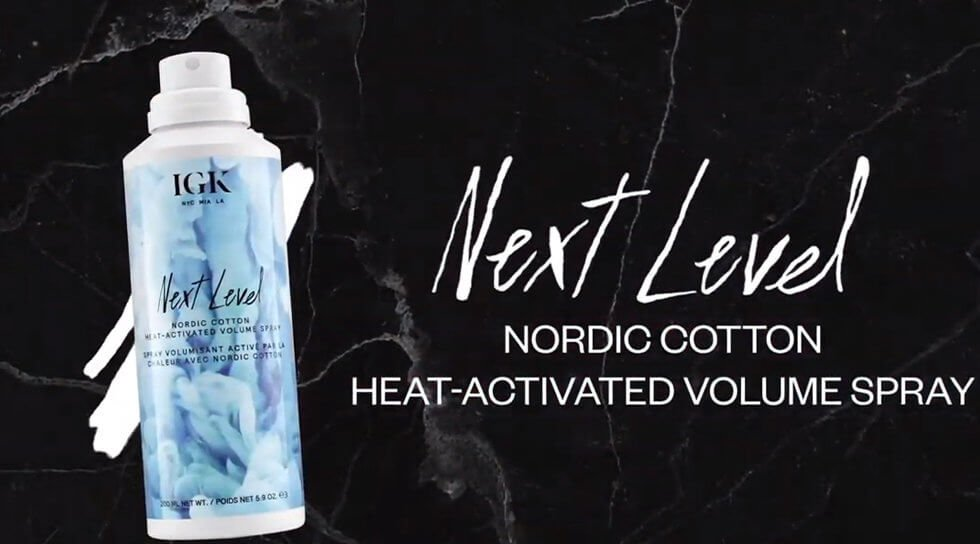 IGK - Next Level Nordic Cotton Heat-Activated Volume Spray