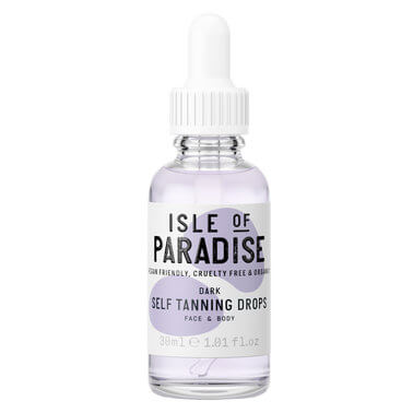 Isle Of Paradise - TANNING DROPS DARK 30ML