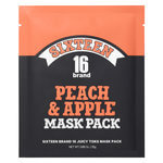 16 Brand - 16 Juicy Toks Mask Pack Peach Apple