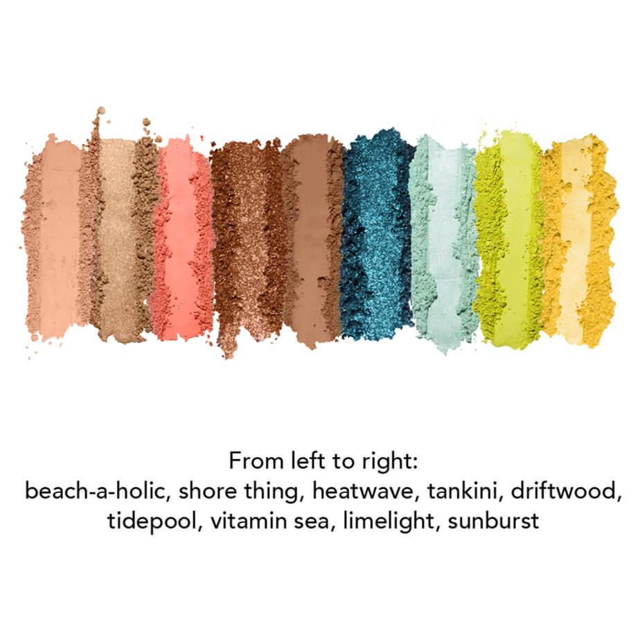 Jouer - Tan Lines Matte, Shimmer & Luxe Foil Eyeshadow Palette