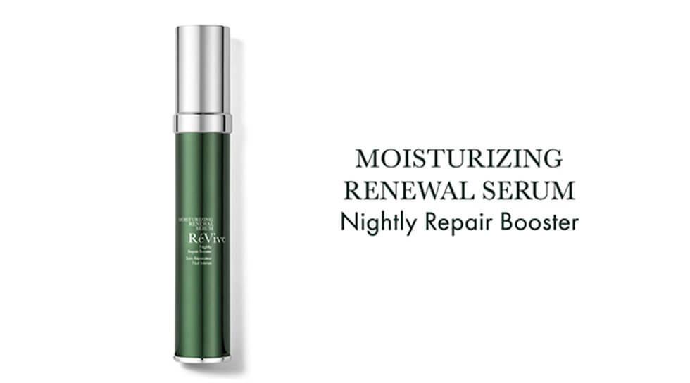 Moisturizing Renewal Serum Nightly Repair Booster, , video