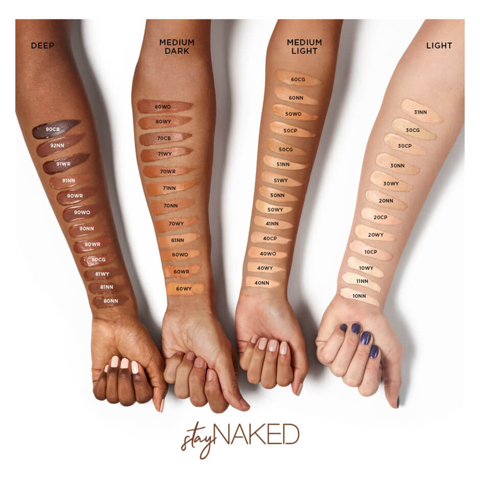 My review on how the Urban Decay Stay Naked Weightless
