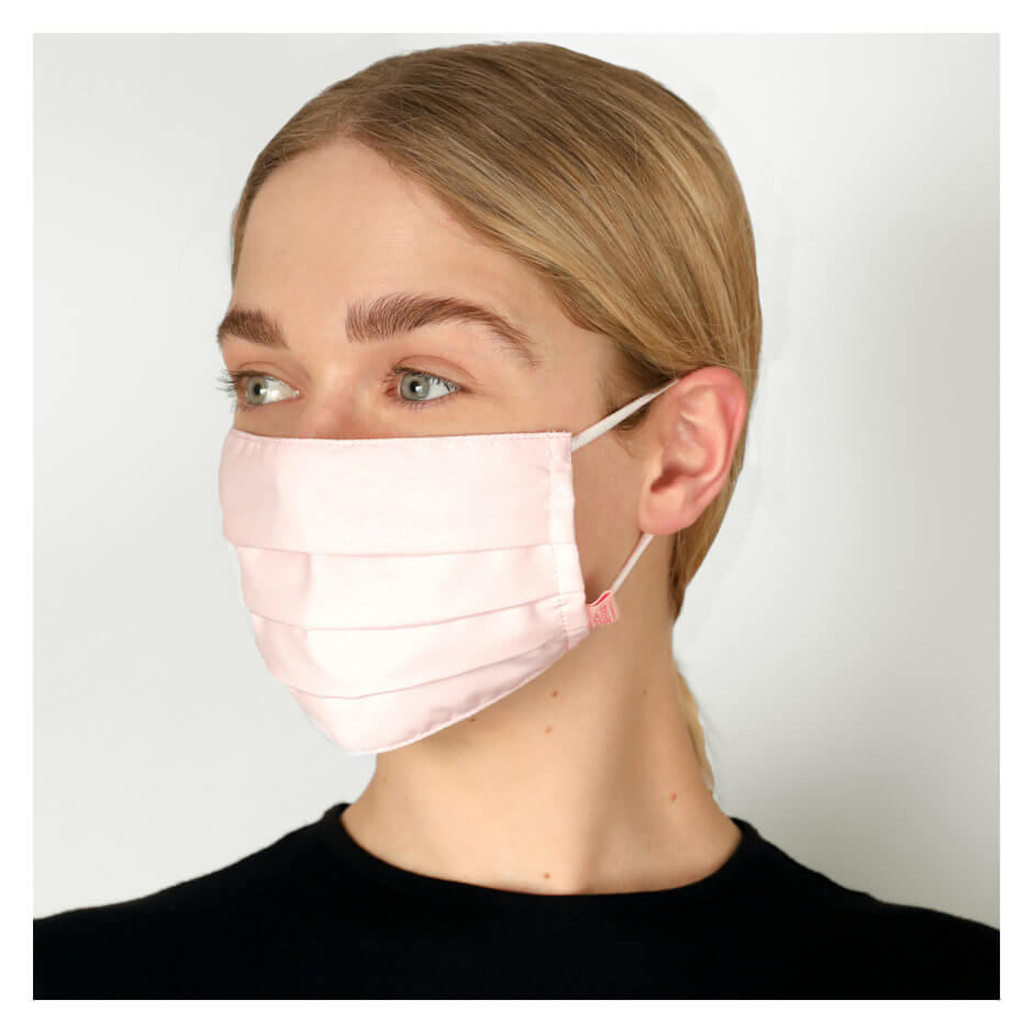 Mecca-ssentials - Reusable Fabric Face Mask - Pink