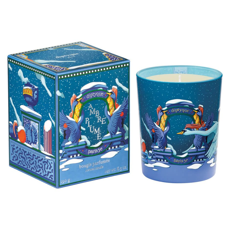 diptyque - Ambre Plume Candle - 190G