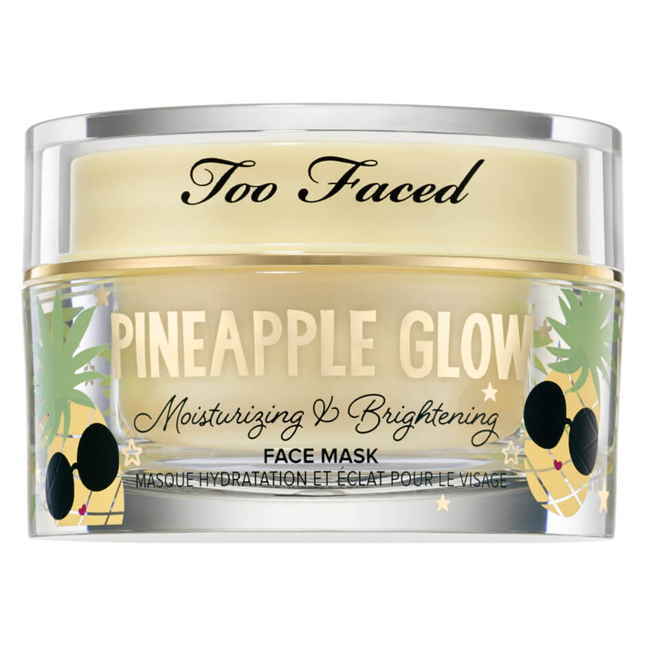 Pineapple Glow Moisturising And Brightening Face Mask