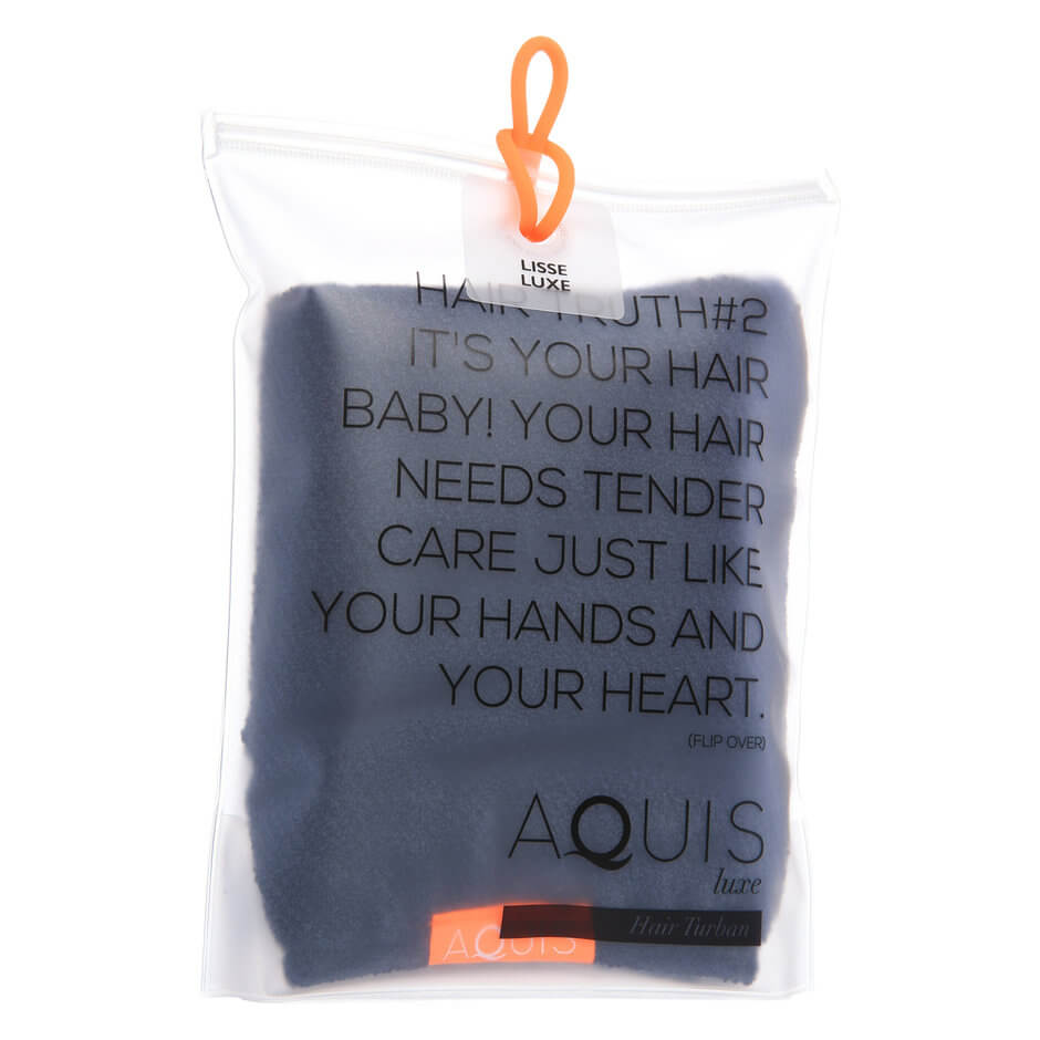 Aquis Hair Towel Lisse Luxe Cloudy Berry Image 1