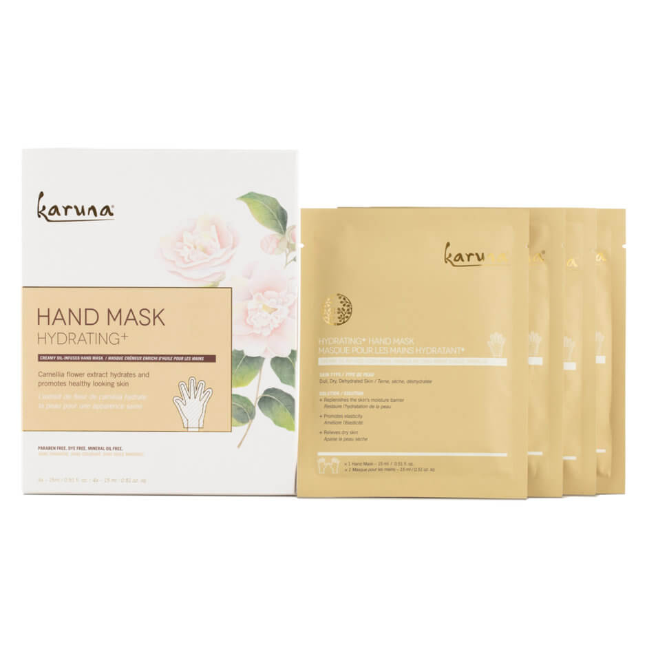 KARUNA - Hydrating+ Hand Mask - 4 Pack