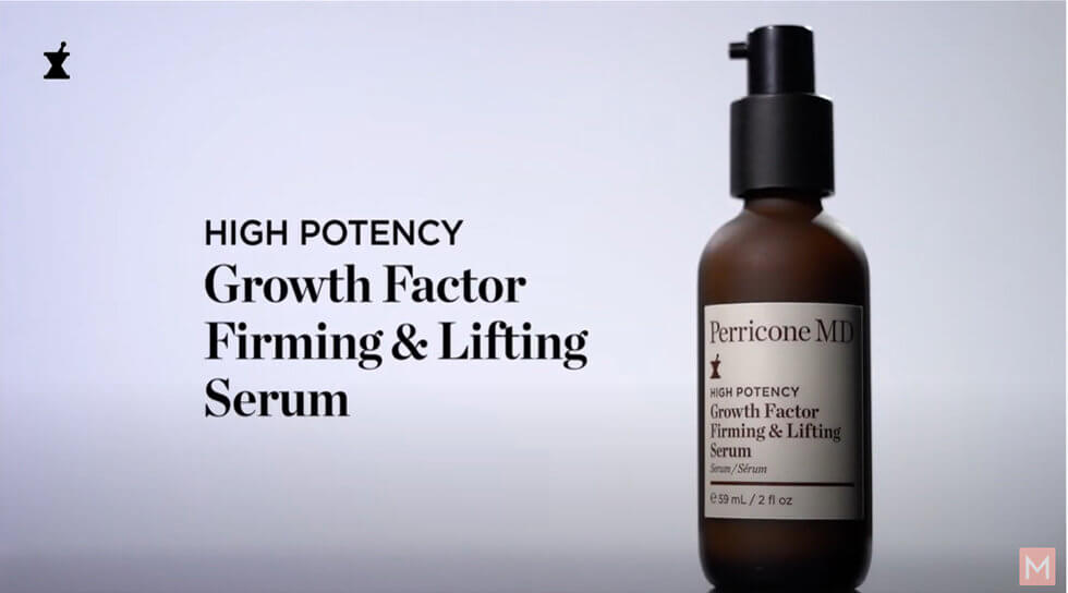 High Potency Growth Factor Firming & Lifting Serum, , video