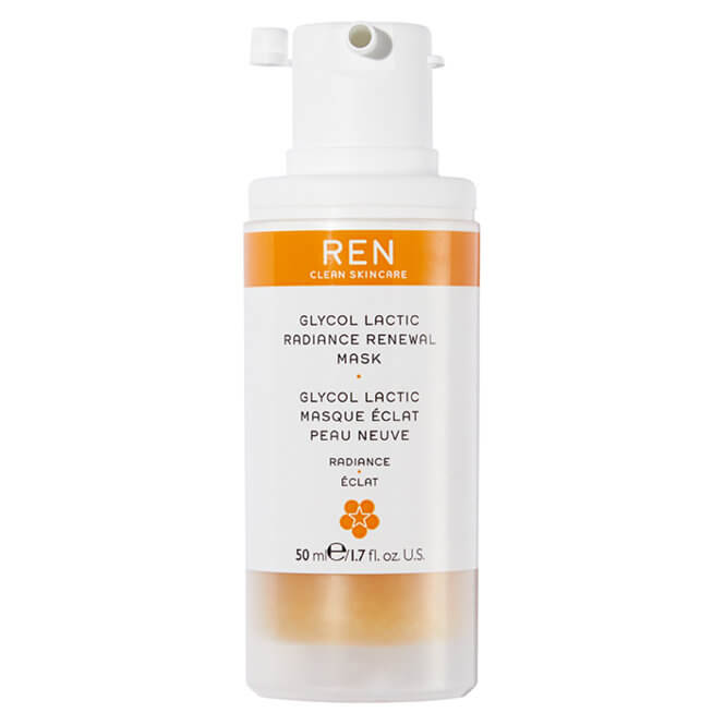 REN Clean Skincare - Glycol Lactic Radiance Renewal Mask - 50ml