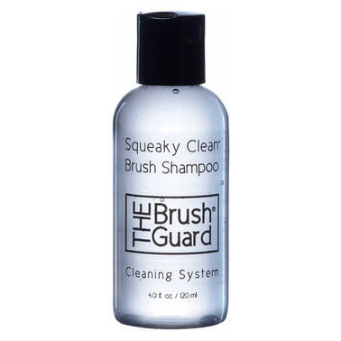 The Brush Guard -   SQUEAKY CLEAN BRUSH SHAMPOO