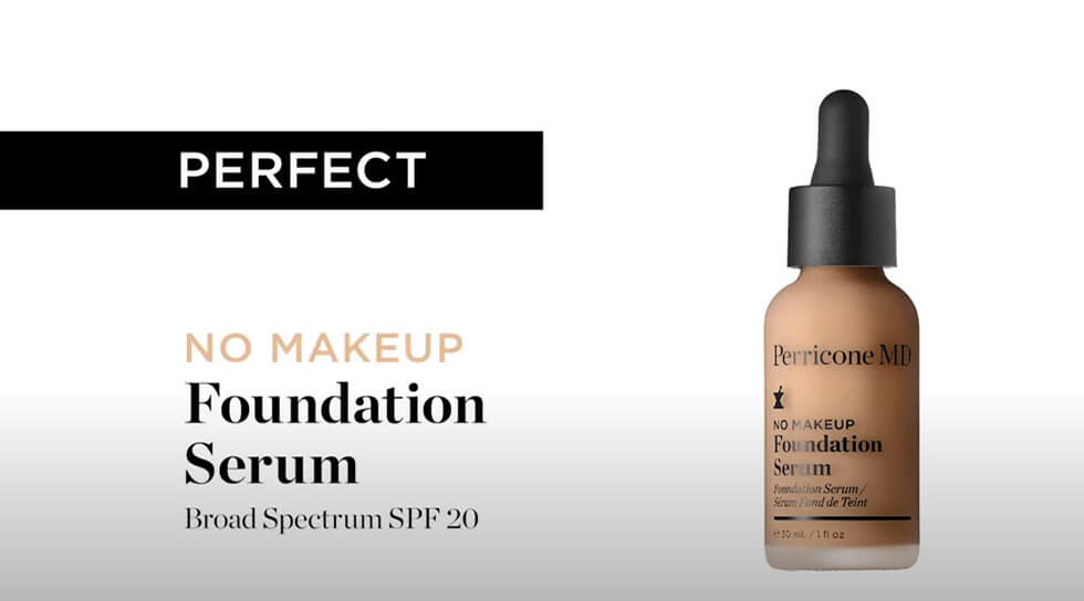No Makeup Foundation Serum Beige, , video