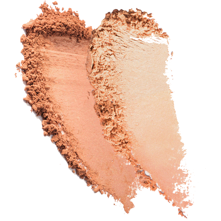Color + Light: Pressed Powder Blush & Highlighter High Intensity, Contrachroma High Intensity, texture