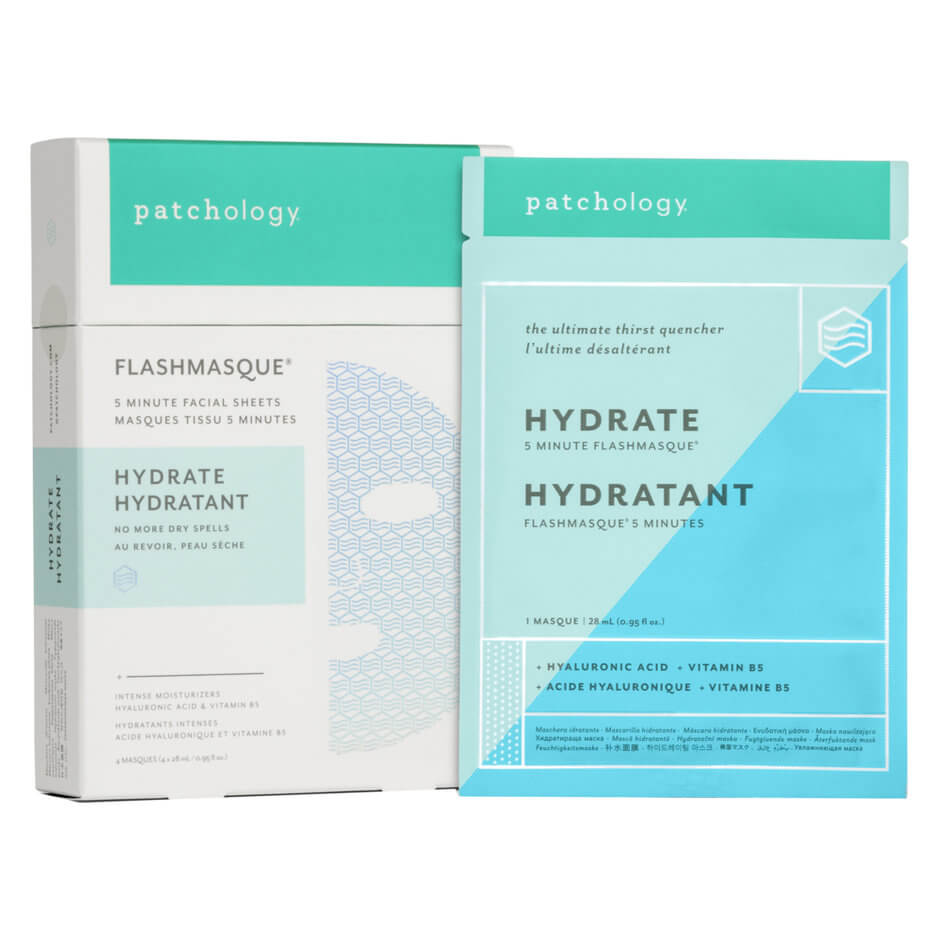 Patchology -   FLASHMASQUE HYDRATE 4 PK
