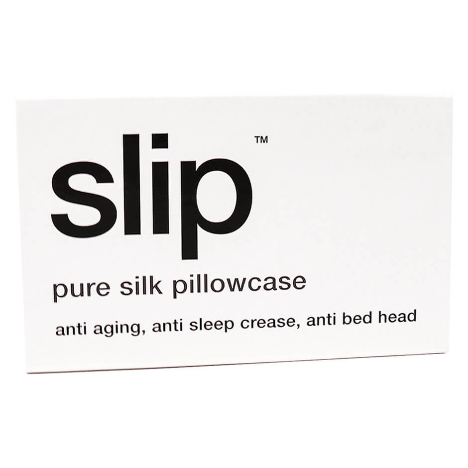 Slip - SILK PILLOWCASE WHITE QUEEN