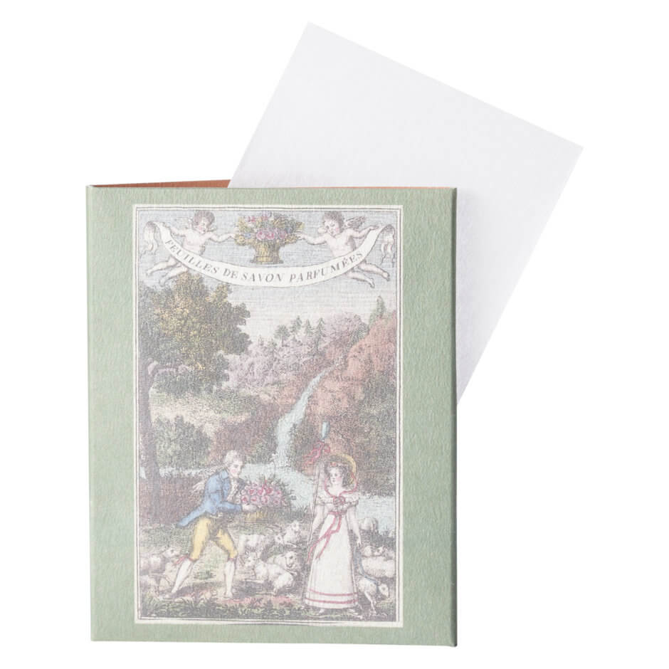 Buly 1803 - Scented Soap Sheets Damask Rose