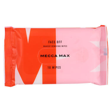 Mecca Max - Face Off Makeup Wipes - 10 Pack