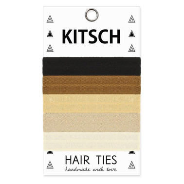 Kitsch - Back to Basics Hair Ties