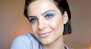 DOMENICA CALARCO'S BLUE LOOK IS ACTUALLY WEARABLE